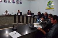 Abertura da 1º reunião ordinária da Câmara Municipal do ano 2019.