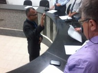 Vereador Suplente toma posse no Legislativo Progressense